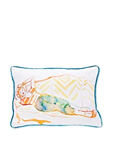 AphroChic Boerum Hill Pillow (Watercolor)