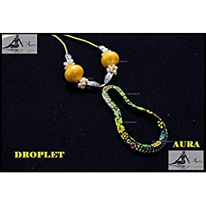 AUrA-EArTH Droplet Necklace