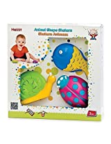 3 Pack Animal Shape Shakers