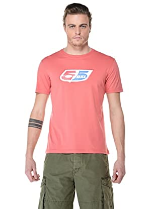 55DSL Camisa Logoclassic (Coral)