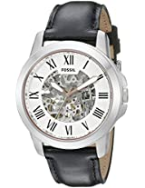 Fossil Grant Analog Silver Dial Men's Watch - ME3101