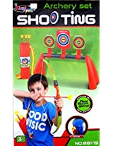 Sunshine Archery Set for kids - With Quiver - Real Shooting Sports Game