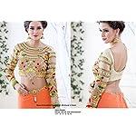 Heavy Work Embroidered Designer Art Silk Blouse