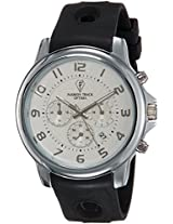 Optima Analog White Dial Men's Watch - OFT-2437 WH