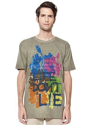Caramelo Camiseta (caqui)