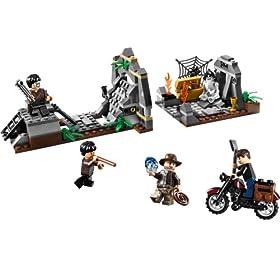 レゴ・インディージョーンズシリーズからチョウチラ墓地の戦い