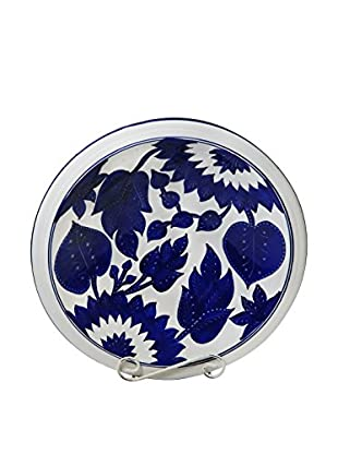 Le Souk Ceramique Jinane Large Serving Bowl, Blue/White