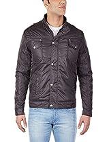 Arrow Sports Men's Crew Neck Polyester Jacket