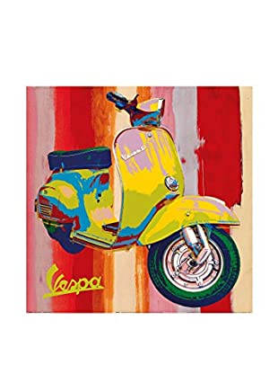 Artopweb Panel Decorativo Salvini Pop Vespa I 50x50 cm Multicolor