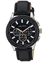 Nautica Chronograph Black Dial Men's Watch  - NTA16691G