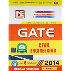 GATE - 2014: Civil Engineering Solved Papers