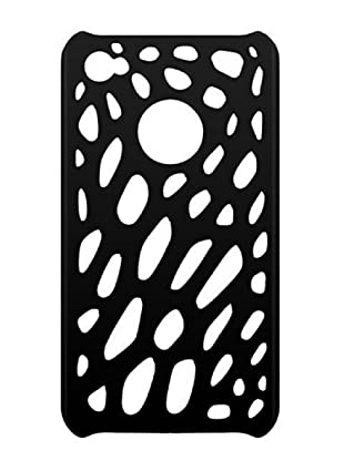 Blautel iPhone 4/4S Carcasa Protectora Semi Rígida Spider Negro