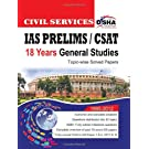 CIVIL SERVICES IAS PRELIMS/CSAT 18Years General Studies Topic wise solved papers 1995 2012 available at Amazon for Rs.100