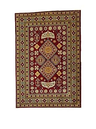 L'Eden del Tappeto Teppich Azerbaijan granatrot/braun 195t x t131 cm