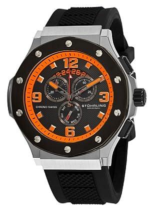 STÜRLING ORIGINAL 160CXL.335657 - Reloj de Caballero movimiento de cuarzo con correa de silicona