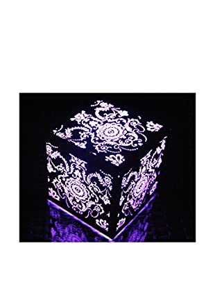 Artkalia Kalis Wireless LED Royal Cube, Glossy Silver
