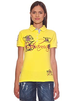 Geographical Norway Polo Karaibes (Amarillo)
