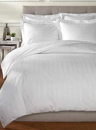 Mason Street Textiles Hudson Duvet Set (White)