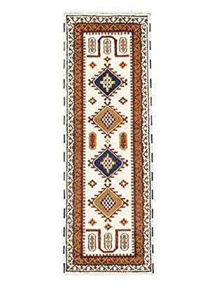 eCarpet Gallery One-of-a-Kind Hand-Knotted Royal Kazak Rug, Beige, 2' 9