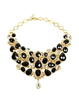 Amrita Singh Collar Crystal South Fork Bib Fall Negro