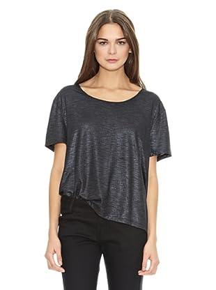 Mango T-Shirt Irise (Schwarz)