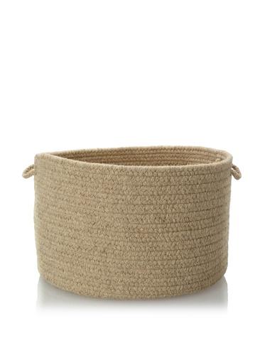 Colonial Mills Solid Storage Baskets (Light Beige)
