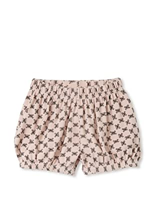 NuNuNu Baby Checkered Yoga Shorts (Pink)