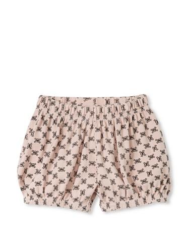 NUNUNU Baby Checkered Yoga Shorts (Pink)