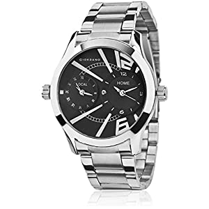 P6868 Black Analog Watch