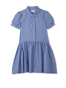 eggi kids Girl's Shirt Dress (Chambray)