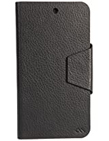 Case Mate Slim Folio Flip cover for MicroMax Canvas A1 (Black)