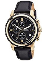 Fossil Dean Analog Black Dial Men's Watch - FS4830I