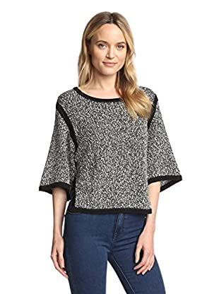 SHAE Women's Cropped Sleeve Pullover