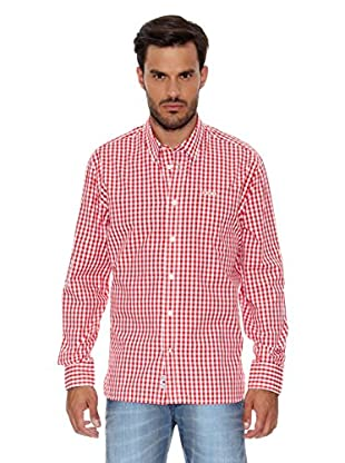 Pepe Jeans London Camisa Hombre River (Rojo Oscuro)