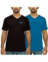 Duke Men Value Pack Of 2 V-neck By Returnfavors