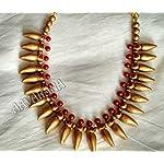 Aavarana Terracotta traditional necklace