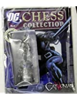 Dc Superhero Chess Collection Magazine #5 Catwoman White Queen