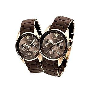 Emporio Armani AR 5890 and AR 5891 Chronograph Watches