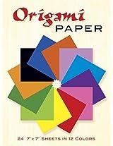 Origami Paper (Dover Origami Papercraft)