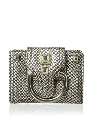 Hayden Harnett Women's Bungalow Cobra Metallic Wallet, Luggage