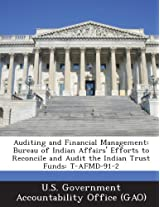 Auditing and Financial Management: Bureau of Indian Affairs' Efforts to Reconcile and Audit the Indian Trust Funds: T-Afmd-91-2
