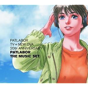 : PATLABOR TV+NEW OVA 20th ANNIVERSARY PATLABOR THE MUSIC SET-1