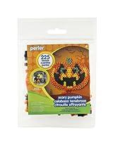 Perler Beads Scary Pumpkin Fused Bead Kit