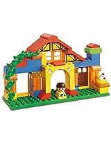 Sluban M38-B6019 Lego Happy Farm Learning Toy, Multi Colour