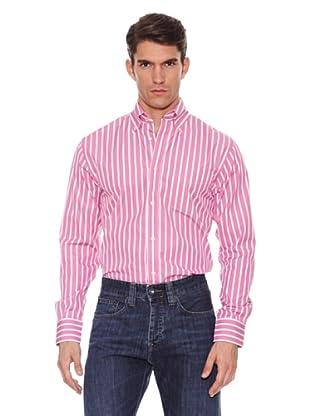 Hackett Camisa Rayas (Rosa)