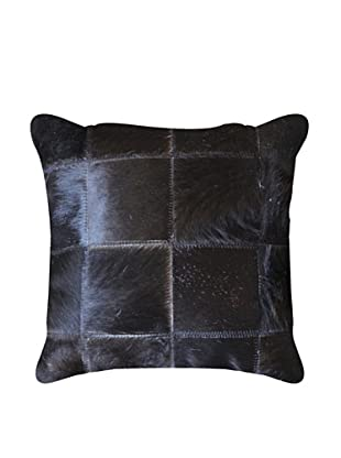 Natural Brand Torino Patchwork Pillow, Black