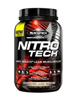 Muscletech Nitro Tech - 2 lbs, 908 g (Cookies and Cream)