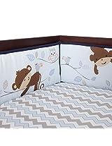 Bedtime Originals Mod Monkey Bumper