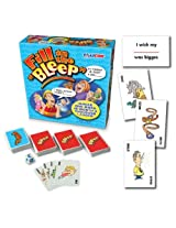 Fill in the Bleep Card Game
