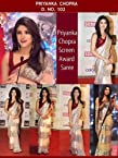priyanka chopra awards saree